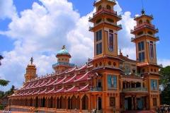 Tay Ninh, Cao Dai Tempel