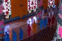 Tay Ninh, Cao Dai Tempel, Caodaisten